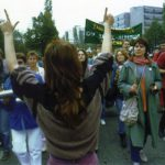 WAA-Demo, München, Okt.1985